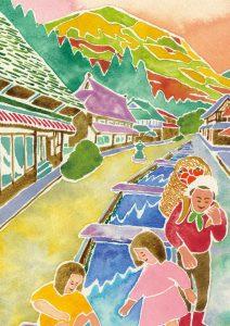【日本遺産文化財】下蚊屋の街並み