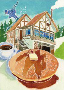 とりこになるパンケーキ モンカフェ Mont Café