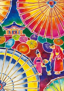 A Magical Summer Tradition – Daisen Umbrella Light-Up