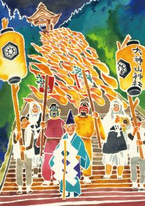 A Sacred River of Flames – The Torch Parade